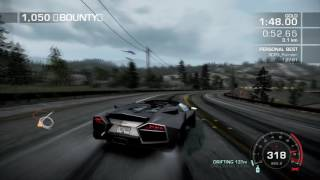 NFS:Hot Pursuit   Ultimately Open 1:27.55   World Record