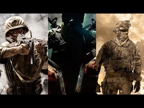 Call of Duty Multiplayer Menu Themes (Best of 2003-2015) w/ Modern Warfare Remastered