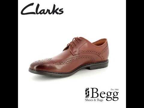 Clarks Banbury Limit G Fit Tan formal