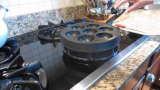 Ebelskivers-how To Cook Danish Pancakes.mpg