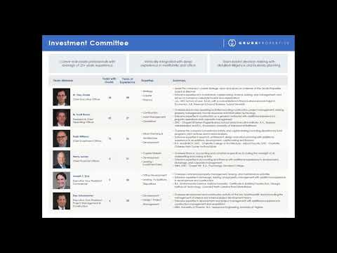 Grubb Properties Webinar Fund VI 1 of 2