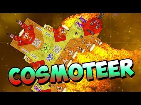 Cosmoteer Gameplay German - Der Gegner ist zu STARK!
