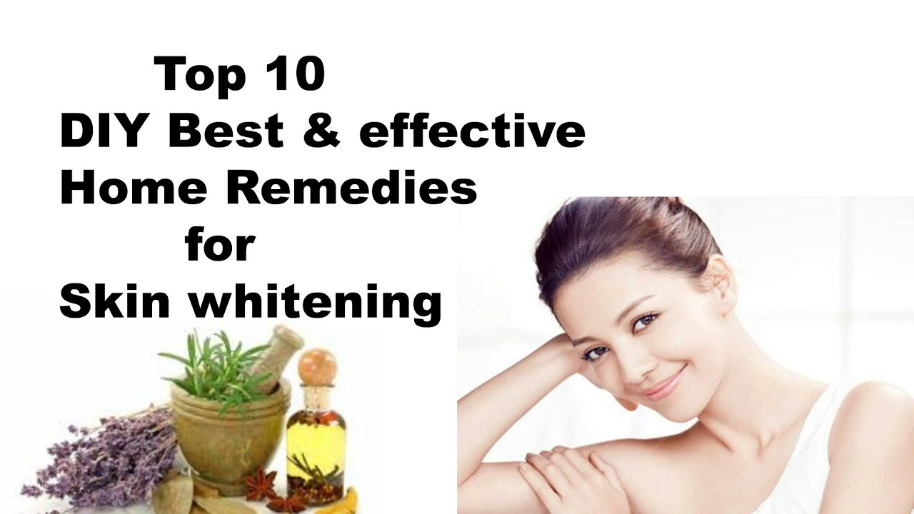 10 Best Home Remedies For Skin Whitening