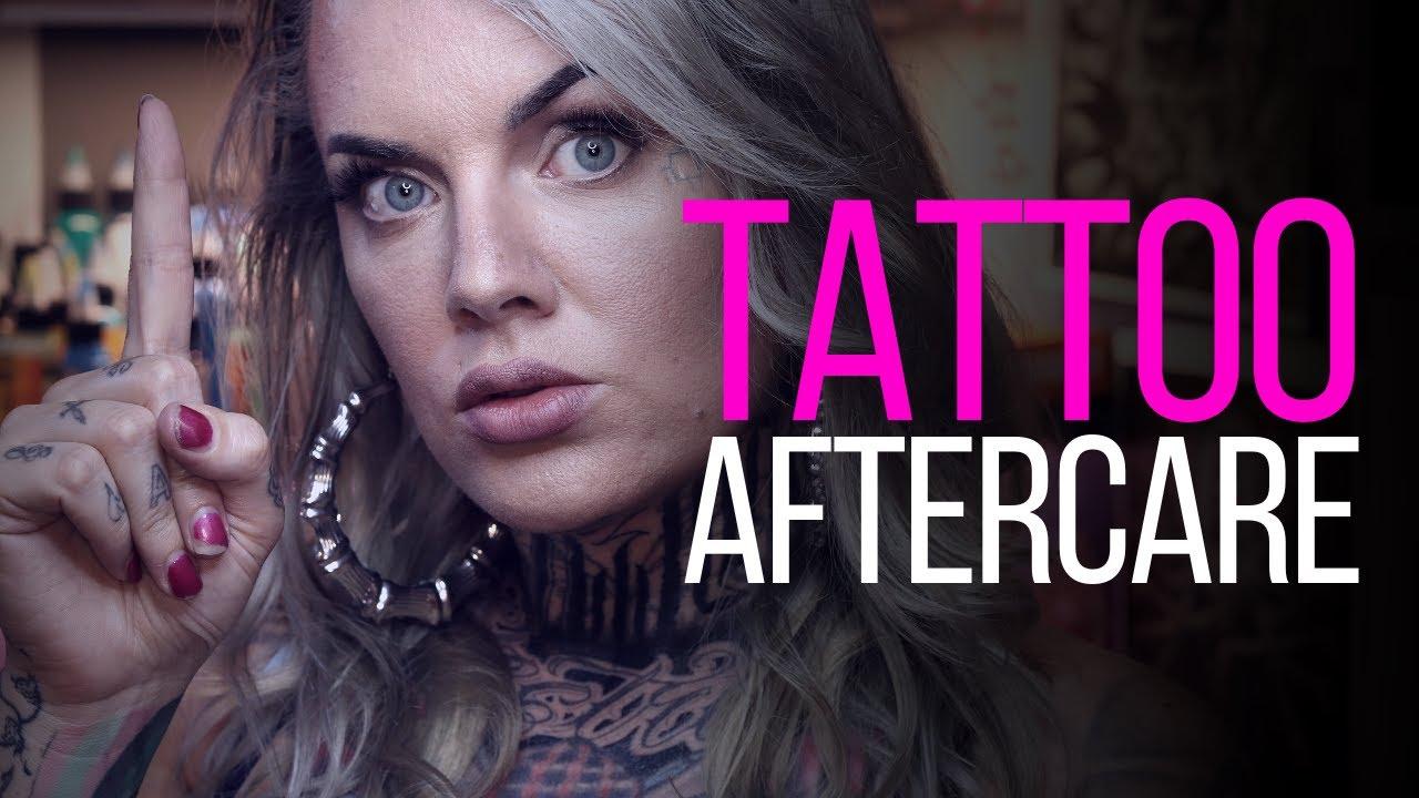 Tattoo Aftercare Instructions Tattoo Advice By Tattoo Artist