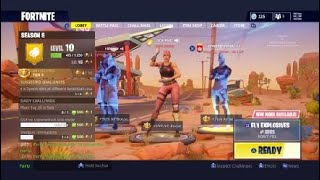 Fortnite glitch inf dance menu