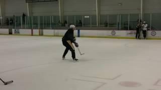 Sidney Crosby and Evgeni Malkin Practicing  / Training
