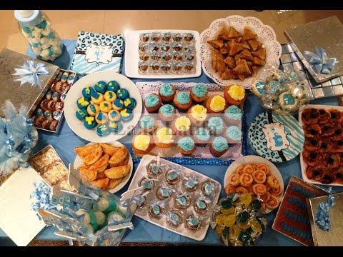 buffet pour un baptême garçon