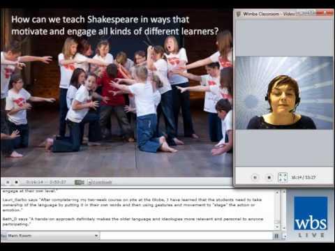 Teaching Shakespeare - Webinar Video - Royal Shakespeare Company