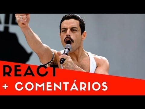 Reação + Comentários do teaser trailer de Bohemian Rhapsody