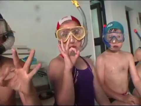 Giocare e respirare sott'acqua!