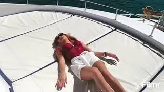 Շուշան Երիցյանի սեքսուալ պարը նավի վրա