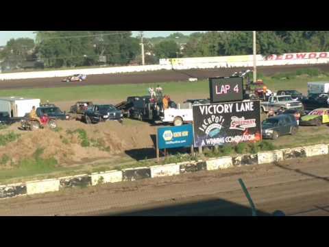Redwood Speedway sport mod heat 7/17/16