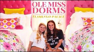 DESIGNER DORMS  / Ole Miss Dorm Tours / ep. 1, Flamingo Palace