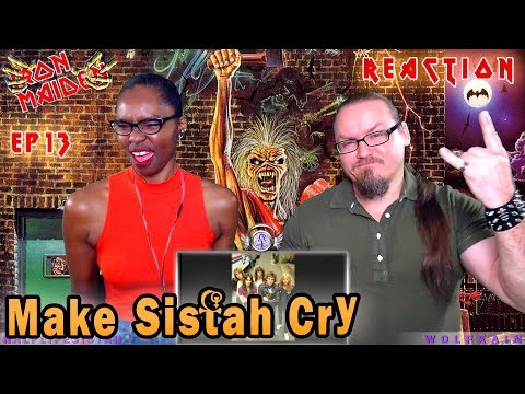"Iron Maiden - Phantom Of The Opera ( Intro / REACTION ) ""Make Sistah Cry?"""