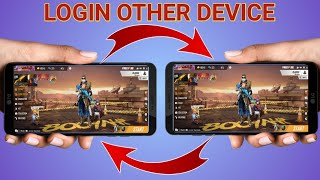 How to login y๐ur free fire account in other devices//Garena Free Fire