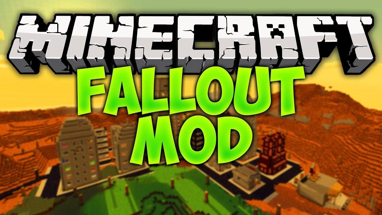 Fallout mod – скачать на Майнкрафт 1.7.10 и 1.8