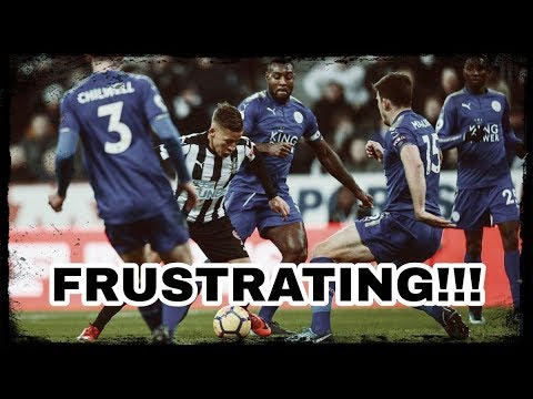 NEWCASTLE UNITED 2-3 LEICESTER CITY | FRUSTRATION!!!
