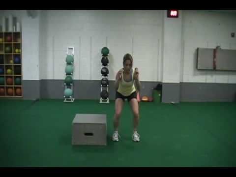 Lateral box jumps