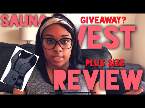 Neoprene Sauna Sweat Vest Review