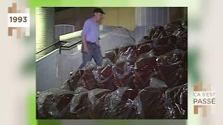 Ça s'est passé… visite du chantier du théâtre national de SQY en 1993