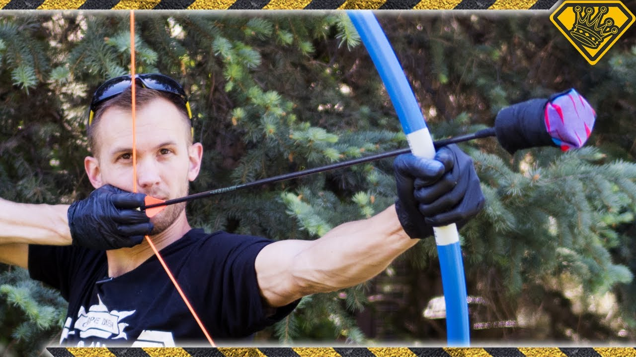 Making a PVC Bow for Arrow TAG
