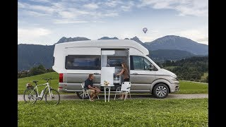 Stylish concept camping! vw california xxl!