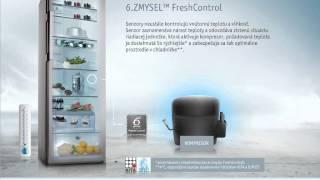 WHIRLPOOL Jednodverová chladnička 6.ZMYSEL™ FreshControl so zásuvkou Activ0°