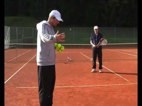 Advanced Tennis Backhand - Drills 2 & 3: Lifting The Ball