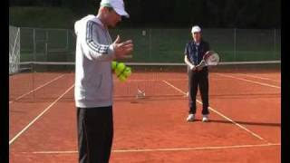 Video Advanced Tennis Backhand - Drills 2 & 3: Lifting The Ball download MP3, 3GP, MP4, WEBM, AVI, FLV Juni 2018