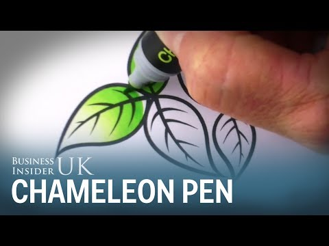 This pen can draw over 100 colour tones in one go