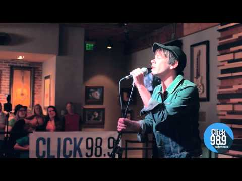 "Nate Ruess ""Just Give Me a Reason"" Live at Click 98.9's Acoustic Lounge"