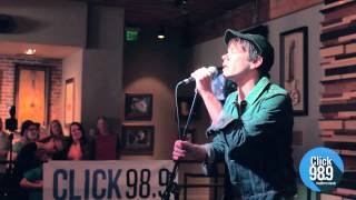 "Nate Ruess ""Just Give Me a Reason"" Live at Click 98.9"