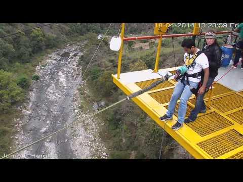 Giant swing Jumpin Heights, Rishikesh
