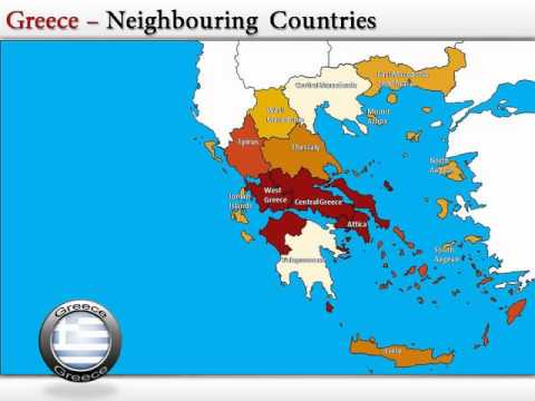 Interactive Greece Powerpoint Map YouTube