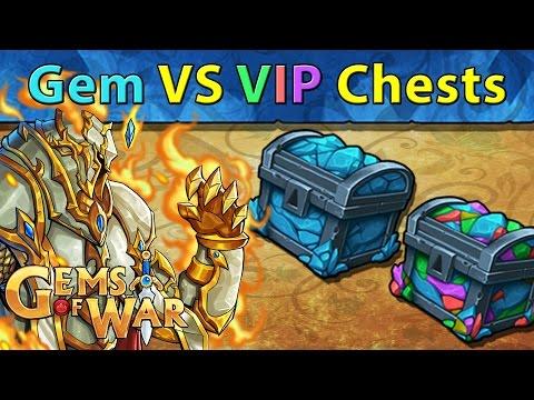 Gems of War: Gem Chests VS VIP Chests - Gard's Avatar Hunting