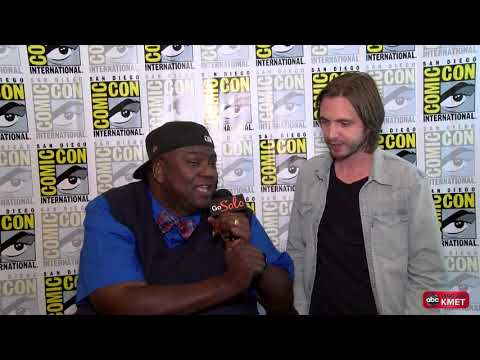 Tech Zone With Paul Amadeus Lane  Ep. 52 Part 2 SDCC 2017 Aaron Stanford & Todd Stashwick