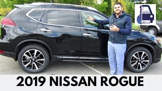 2019 Nissan Rogue SL AWD ProPilot Platinum Reserve Package Detailed Walk Around and Review