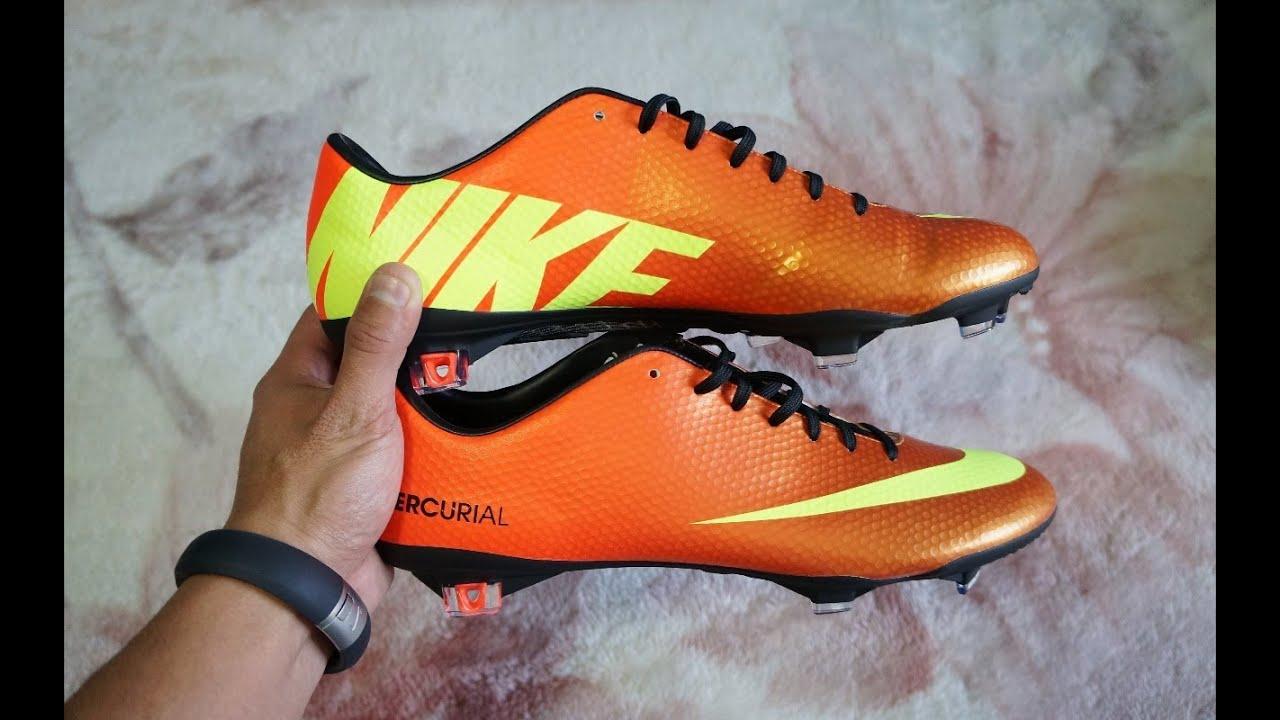 Nike Mercurial Vapor IX FG Unboxing! (Sunset W/Volt) [HD ...