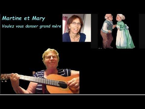 Voulez vous danser grand mère - Lina Margy et... Chantal Goya