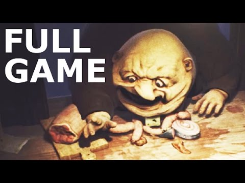 Little Nightmares - Full Game Walkthrough Gameplay & Ending (No Commentary Longplay) (Horror Game)