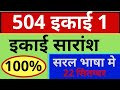 504 ???? 1 ? 504 ???? 1 ?????? ? very important que ans ? mohan verma