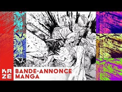 bande annonce de l'album Chainsaw Man vol.1