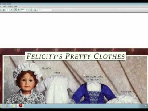 American Girl Doll PlayThing Website