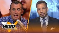 Carmelo is better than 70% of the NBA but where does he fit, talks LeBron — Broussard | THE HERD