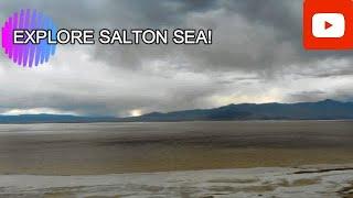 Camping at Salton Sea!