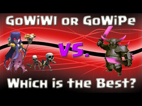 Clash of Clans   GoWiWi vs. GoWiPe