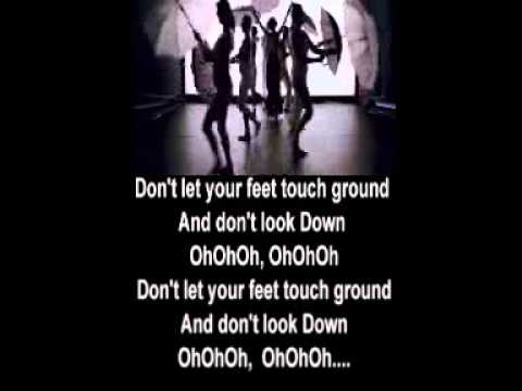 Don't Let Your Feet Touch Ground - Ash Koley WITH LYRICS
