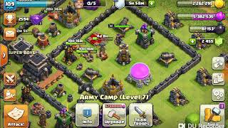 Golem witch attack on th9