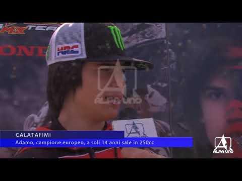 CALATAFIMI, Adamo, campione europeo, a soli 14 anni sale in 250cc