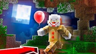 I Found PENNYWISE in Minecraft! (IT Clown in Minecraft)